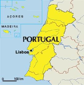 Location IADIS Information Systems - Portugal map lisbon